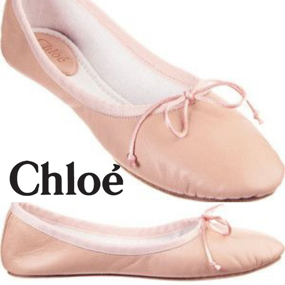 c593623b054 Chloe Shoes - Chloé sz 7.5 Tutu Bowknot Ballet Shoes